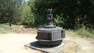 Leffel water turbine